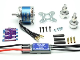 Brushless Motor BOOST 50 Combo
