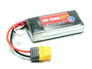 LiPo Akku RED POWER SLP 1300 - 7,4V