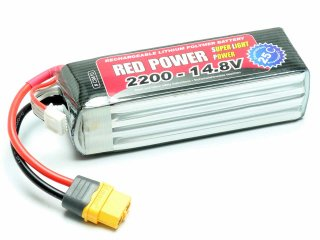 LiPo Akku RED POWER SLP 2200 - 14,8V