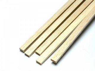 Balsa-Leiste 5.0 x 15.0 x 1000 mm (VE=10St.)